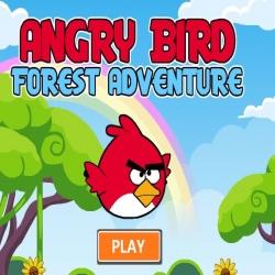 لعبة الطيور الغاضبة مغامرة في الغابة