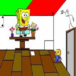 لعبة سبونج بوب الهروب من الغرفة