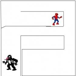 لعبة تجد الرجل العنكبوت