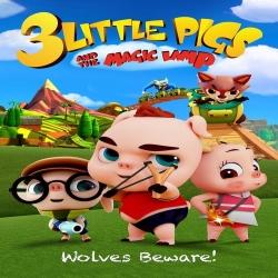 فيلم كرتون الانيمشين الخنازير الصغيرة الثلاثة والمصباح السحري 3LIttle Pigs and the Magic Lamp 2016 مترجم للعربية