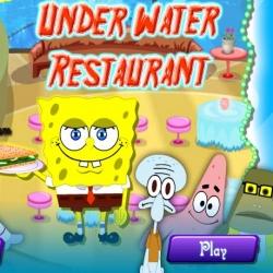 لعبة مطعم سبونج بوب