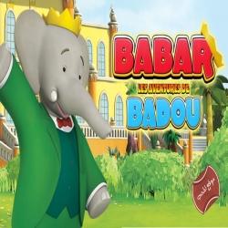 مسلسل كرتون بابار ومغامرات بادو Babar et les aventures de Badou