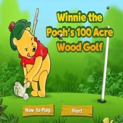 لعبة رياضة الكولف لدبدوب ويني