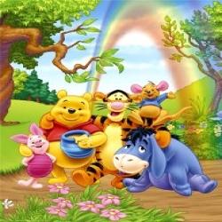 لعبة تلوين ويني الدبدوب وأصدقاءه