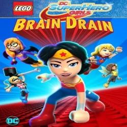 فلم الكرتون ليجو بطلة السوبر بنات LEGO DC Super Hero Girls Brain Drain 2017 مترجم