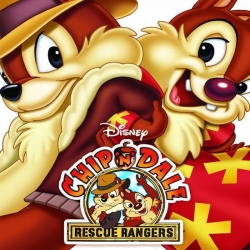 مسلسل كرتون مغامرات سنجب وسنجوب كتيبة النجدة Chip and Dale Rescue Rangers
