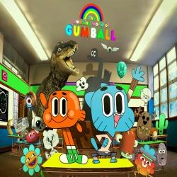 مسلسل الكرتون عالم غامبول المدهش The Amazing World of Gumball