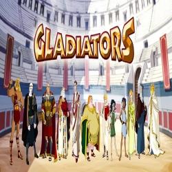 مسلسل الكرتون الابطال Gladiators
