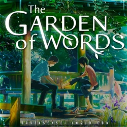 فلم انمي الكرتون حديقة الكلمات The Garden of Words 2013 مترجم