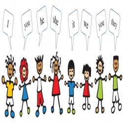حفظ الضمائر الانجليزية بسهولة للأطفال