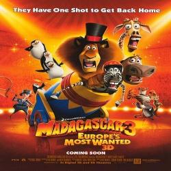 فلم الكرتون مدغشقر 3: مطلوبين في أوروبا Madagascar 3: Europes Most Wanted 2012 مدبلج للعربية