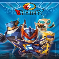 شاهد مسلسل كرتون التشويق والإثارة المحاربون الابطال  G-Fighters - الموسم الاول