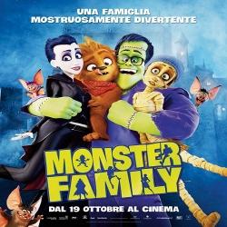 فلم كرتون الانيميشن والكوميديا العائلي عائلة الوحش Monster Family 2017 مترجم للعربية