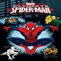 حلقة جديدة - مسلسل الكرتون سبايدرمان الأقوى - محاربو الوب ultimate-spider
