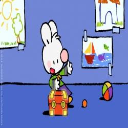 مسلسل الكرتون الارنب الابيض الصغير Silly Bitty Bunny
