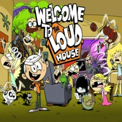 مسلسل الكرتون منزل لاود the loud house