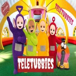 مسلسل الكرتون تيليتابيز Teletubbies