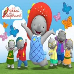 مسلسل الكرتون الفيلة إيلا ella the elephant