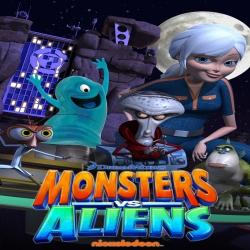 مسلسل الكرتون الوحوش ضد المخلوقات الفضائية Monsters vs. Aliens
