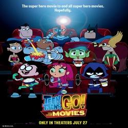 شاهد فلم الكرتون انطلاق الجبابرة المراهقين الى الافلام Teen Titans Go To the Movies 2018 مترجم للعربية