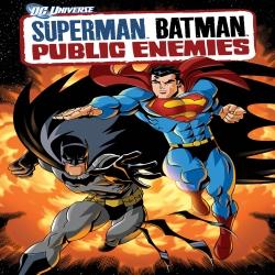 فلم كرتون الاكشن سوبرمان وباتمان اعداء الجميع Superman Ba