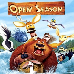 فيلم كرتون موسم صيد الجزء الاول Open Season 2006 مدبلج للعربية
