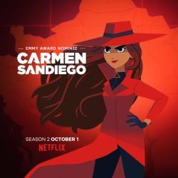 كارمن ساندييغو Carmen Sandiego الموسم الثاني مدبلج للعربية