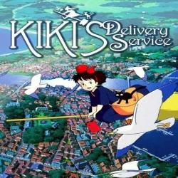 فيلم الكرتون كيكي لخدمة التوصيل Kikis Delivery Service 1989 مدبلج للعربية