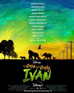 فيلم ايفان الوحيد الاوحد The One and Only Ivan 2020 - مترجم للعربية