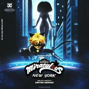 فيلم الكرتون Miraculous World: New York – United HeroeZ 2020 ميراكيولوس مدبلج