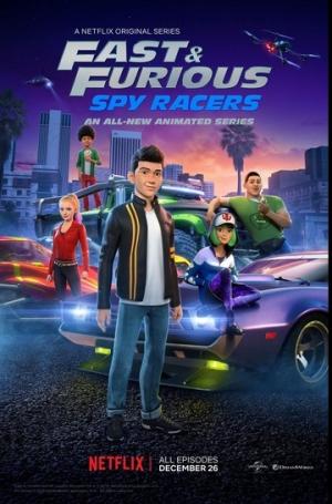 مسلسل الكرتون السريع والغاضب :متسابقو الاستطلاع Fast and Furious Spy Racers الموسم الخامس