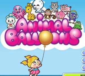لعبة بالونات الحيوانات