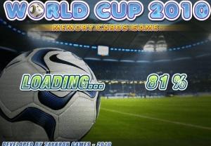 لعبة الصور المتشابهة World Cup 2010 - Memory Cards Game