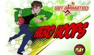 لعبة بن تن بطل كرة السلة