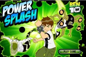 لعبة بقعة القوة 10  بن Power Splash