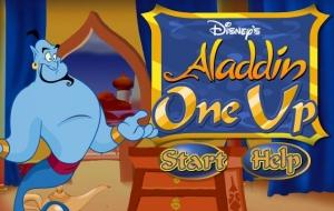 on up aladdin لعبة أونو علاء الدين