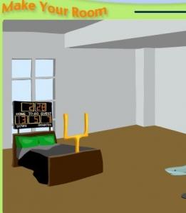 لعبة ترتيب الغرف