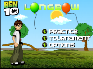 لعبة بن تن قناص البالونات