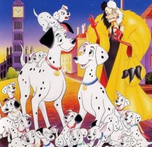 جميع افلام ديزني مئة مرقش ومرقش Dalmatian 101