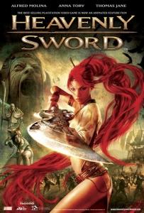 شاهد فلم الكرتون والاكشن Heavenly Sword 2014 مترجم للعربية