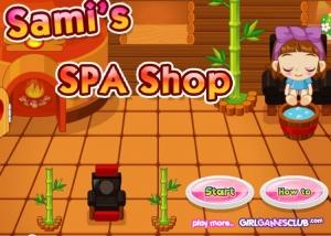 لعبة samis_spa_shop  الصالون