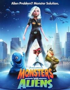 شاهد فلم الكرتون الوحوش ضد الفضائيين Monsters vs Aliens 2009 مدبلج للعربية