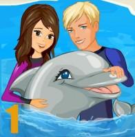 لعبة تدريب الدلفين الذكي 1
