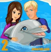 لعبة تدريب الدلفين الذكي 2