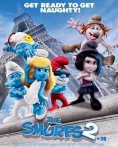 شاهد الفلم العائلي السنافر الجزء الثاني The Smurfs 2013 مدبلج بالعربية