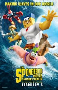فيلم كرتون سبونج بوب خارج الماء The SpongeBob Movie Sponge Out of Water 2014 مترجم