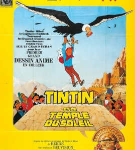 #مشاهدة فلم كرتون تان تان وسجناء الشمس أو تان تان في معبد الشمس