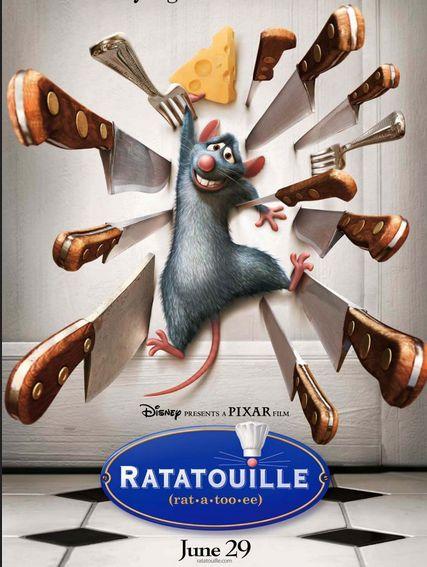 شاهد فلم الكرتون الفار الطباخ خلطة بيطة بالصلصة Ratatouille 2007 مدبلج باللغة العربية