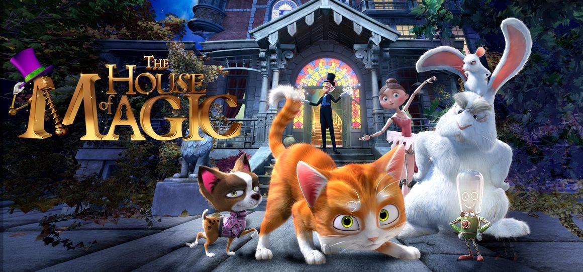 شاهد فلم الكرتون الرعد والبيت السحري Thunder and the House of Magic 2013 مدبج للعربية
