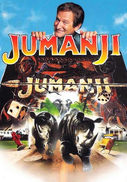 شاهد الفلم العائلي جومانجي Jumanji 1995 مترجم